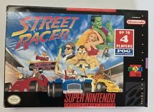 Super Nintendo - Street Racer - Like New - Complete