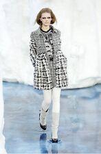 Chanel runway fantasy tweed bow dress-NWT SIZE 36