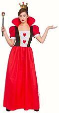 Queen of Hearts fancy dress costume Womens costume Storybook queen