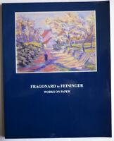 KATALOG JOHNSON FINE ARTS FRAGONARD to FEININGER WORKS on PAPER ENGLISCH