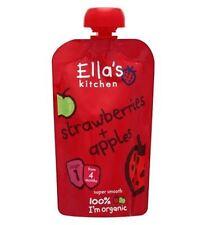 Ella'S Kitchen Strawberries + Apples Stage 1 From 4 Months 120G
