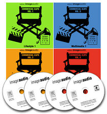 4 CDS-Commercial clip-gemafreie musica libera licenza royalty free AKM libero