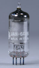 NOS JAN 6AK6 Vacuum Tube Military GE 1964 ~ Test Strong