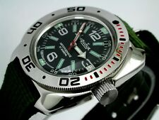 RUSSIAN  VOSTOK AUTO AMPHIBIAN  WATCH #710640n NEW