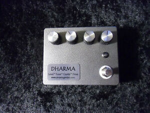 GUITAR PEDAL KIT ZENN-DHARMA WITH PAINTED BOX!