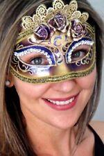Purple Mask - Marie Antoinette OVERNIGHT Most Metro Italian Made