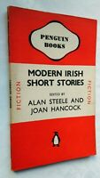 ALAN STEELE JOAN HANCOCK MODERN IRISH STORIES 1ST/1 1943 PENGUIN 415 LIKE UNREAD