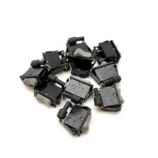 Lot Of 10 DEFOND DRC-1215-Y 3-Pin Rocker Switches 15A 125VAC, 0.5A 125VDC, 3/4HP
