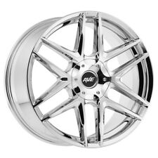 "22"" Inch Avenue A613 22x9 5x127(5x5"")/5x139.7(5x5.5"") +18mm Chrome Wheel Rim"