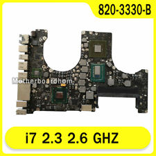 "Motherboard for Macbook Pro 15.4"" A1286 2.3 GHZ i7 logic board 820-3330-B 2012"