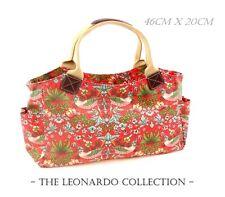 Strawberry Thief da William Morris | Tote Bag Borsa a mano arte | Leonardo Collection