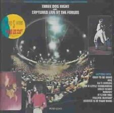 Captured Live at the Forum by Three Dog Night (CD, Jul-1989, MCA)