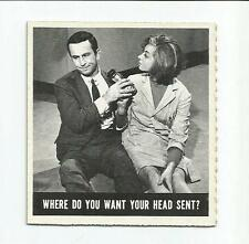 """1966 Topps GET SMART #51 - """"Where Do You Want..."""" - NM/MT!!!"""