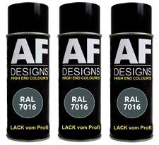 3x RAL Lackspray Autolack Sprühdose Spraydose RAL7016 ANTHRAZITGRAU glänzend mat
