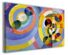 Quadri moderni famosi Robert Delaunay vol II stampa su tela canvas arredo poster