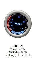 """SPECO 2""""  PLASMA VAC-BOOST GAUGE P/N 530-02"""
