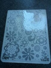 Sizzix Large Embossing Folder BAROQUE WALLPAPER fits Cuttlebug 4.5x5.75in