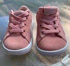 Girls Puma Kinder Fit Shoes- Pink