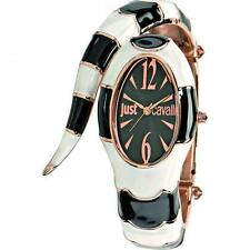 JUST CAVALLI Orologio polso Donna R7253153506 POISON watch Bianco snake moda