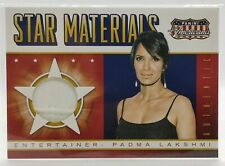Padma Lakshmi from Top Chef Relic Card 2015 Americana (Swatch from Seam)