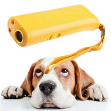 Train Dog Repeller Control LED Trainer Ultrasonic Anti Barking Device