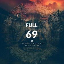 FULL CONTACT 69 Zombiefied CD 2016 LTD.350