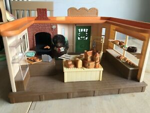 Sylvanian Families Bakery Plus Furniture, Figure And Bits (not 100%)