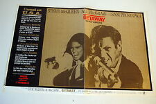 STEVE McQUEEN ALI MacGRAW THE GETAWAY 1972 ORIGINAL FRENCH POSTER