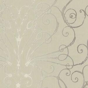 Beige Larosa Filigree Wallpaper  Patty Madden  HMY57616  per Double Roll