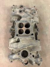 1966 66 Corvette Chevy Iron Intake Manifold 327/300 HP 3872783 K-3-5 HOLLEY