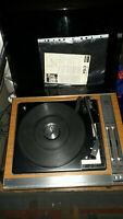 Vintage ITT KA1026 Record Player bsr mechanism