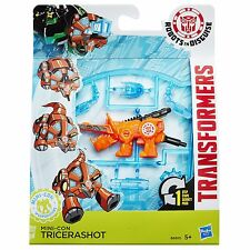 TRANSFORMERS ROBOT IN DISGUISE mini-con weaponizers tricerashot figura (B6810)