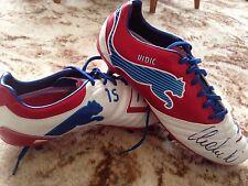 Nemanja Vidić Signed Manchester United Match Worn / issue Puma Football Boots