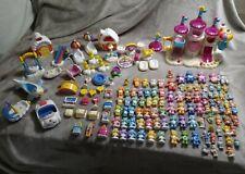 Vintage Care Bears Massive Care-A-Lot Playset lot 98 Figures & 47 Accessories