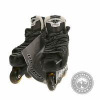 OPEN BOX MISSION Inhaler DS:7 Youth Inline Hockey Skates in Black - 11