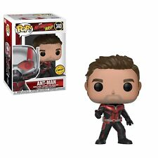 Funko - POP Marvel: Ant-Man & The Wasp - Ant-Man #340 LIMITED CHASE EDITION New
