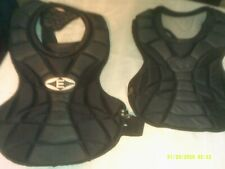 2 Used Baseball Umpire Chest Protectors Zero Shock Technology Other Teen Size