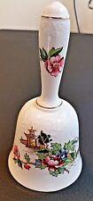 Crown Staffordshire Pagoda Bell Vintage LN England Fine China Original Clapper