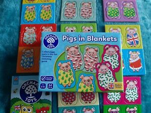 Orchard Games PIGS IN BLANKETS -  (age 3-6 years) - NEW
