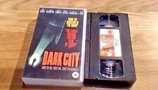 Dark City EIV UK PAL VHS VIDEO 1999 Rufus Sewell Kiefer Sutherland William Hurt