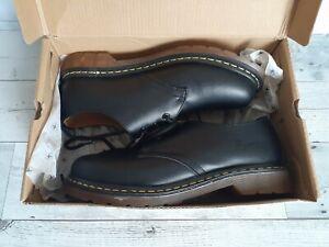 NEW Dr. Doc Martens AirWair Wildhorse 1461 Leather Boots Mens US Sz 9 UK Sz 8