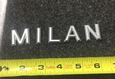 06-09 MERCURY MILAN REAR SIDE EMBLEM LOGO DECAL BADGE SIGN SYMBOL SET 07 08