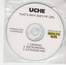 (FC120) Uche, That's Why She's My Girl - 2009 DJ CD