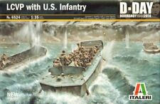 Italeri 6524 - Lcvp With U.S.Infantry - 1:3 5