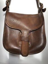 Vintage Coach Bag Bonnie Cashin Saddle Brown Leather Flap Messenger Bag