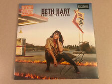 "Beth Hart - ""Fire On The Floor"" B&N Exclusive Orange Vinyl Signed Sealed New HTF"