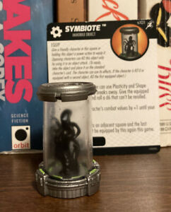 Heroclix Superior Foes of Spider-Man set Symbiote S101 LE Special Object w/ Card