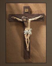 "Traditional Wall Crucifix 21"" EC456"