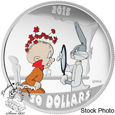 Canada 2015 $30 Looney Tune Classic Scenes: The Rabbit of Seville Silver Coin
