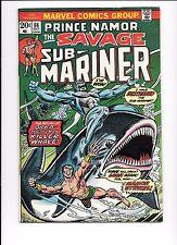 Prince Namor, The Savage Sub-Mariner #66 October 1973